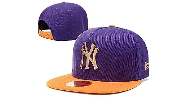 ce19c09d3c9 Fashion The League New York Yankees Iron Standard Hip-hop Game Snapback Cap  Hat  Amazon.co.uk  Clothing