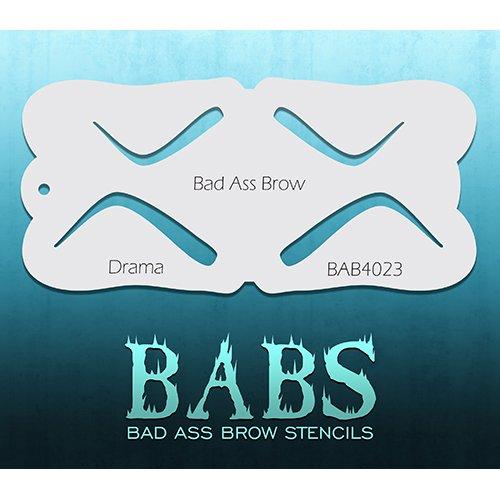 Bad Ass Stencils drame pochoir front