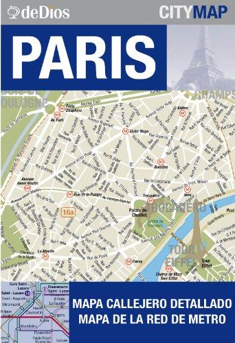 City Map Paris por Julián de Dios