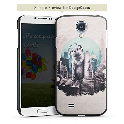 DeinDesign BlackBerry Q10 Hülle Schutz Slippery Case Cover Otter Stadt City