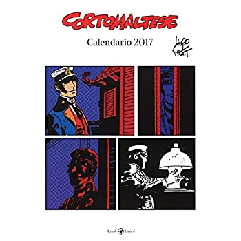 Corto Maltese. Calendario 2017
