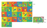Sunta Alphabet/Animal Mats, 12 inches (M...