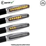 LED Blinker kompatibel mit Honda VT 750 C Black Widow, X4 / VT 600 C Shadow (E-Geprüft / 2Stück) (B16)