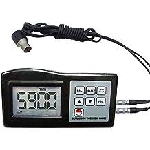 Landtek Instrumentos de grueso ultrasónico del metro del calibrador digital de 1,00 a 200.00mm metal / no metal