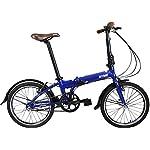 Bicicletta-Pieghevole-20-Citizen-Blue