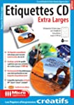 Pap. �tiquettes CD XXL  (CD-rom)