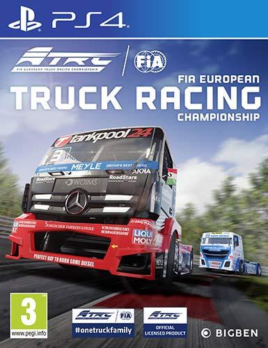Fia European Truck Racing - Classics - PlayStation 4 [Importación italiana]