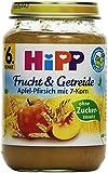 Hipp Apfel-Pfirsich mit 7-Korn, 6er Pack (6 x 190g)