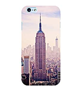 ifasho Designer Back Case Cover for Apple iPhone 6 Plus :: Apple iPhone 6+ (Cities Chicago (Il) Usa Vasai-Virar)