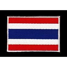 Parche Parches plancha de planchar Iron on), diseño bandera de Tailandia