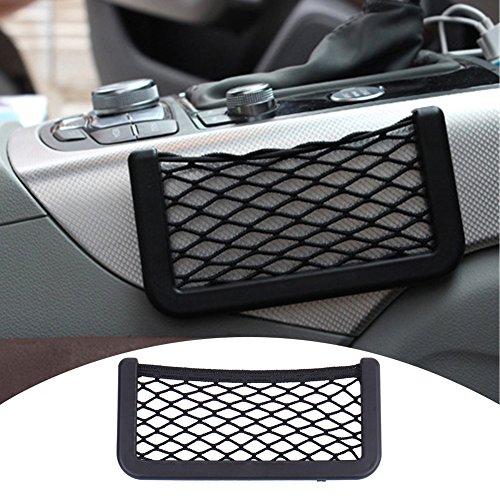 HimanJie Universal-Auto-Sitzseiten Back Pocket-Speicher-Organisator Nylon-Netz Beutel-Telefon-Halter(B)
