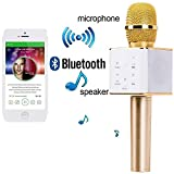 Best I Pad Speakers - Toykart Portable Handheld Singing Machine Condenser Microphones Review