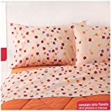 Bassetti Bettwäsche Einzelbett Bett Mania in Flanell-Baumwolle Icon