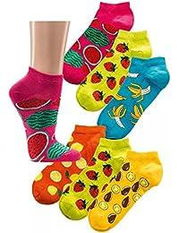 Sneakers-Socken 'Bunte Früchte'
