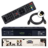 HD Sat Receiver Nokta ECO S10 (USB, HDMI, Audio Cinch, Digital Audio Out, Full HDTV, DVB-S2) + GRATIS HDMI Kabel - netshop25 Set