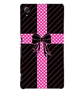 Gift Parcel Packing 3D Hard Polycarbonate Designer Back Case Cover for Sony Xperia Z3+ :: Sony Xperia Z3 Plus