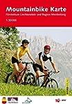 Mountainbike Karte Fürstentum Liechte...