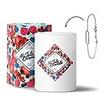 MY JOLIE CANDLE • Bougie Parfumée avec Bijou Surprise à l'Intérieur • Cadeau : Bracelet • Parfum Fruits Rouges • Cire Naturelle 100% Végétale