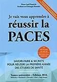 Je vais vous apprendre à réussir la PACES - Editions du 46 - 01/06/2015