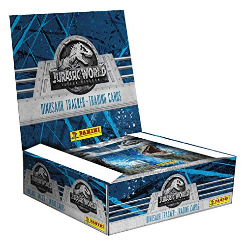 Panini France SA SA- Jurassic World Movie 2 TC 2516-004 - Box of 24 Cases