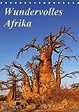 Wundervolles Afrika (Tischkalender 2019 DIN A5 hoch): Über die Vielfalt eines Landes (Monatskalender, 14 Seiten ) (CALVENDO Orte) - Wibke Woyke