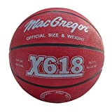 MacGregor Multicolor Basketball, Red by MacGregor