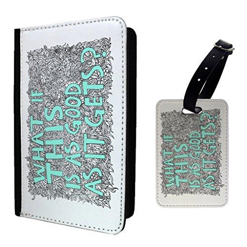 Das stilvoll gestaltete 2Stück Reisepasshülle und tuggage Tag schaffen die perfekte Weg, um Schutz hinzufügen und individuellen Stil für Ihren Reisepass% Gepäck. Alle unsere Reisepass Halter und Kofferanhänger sind eine Spezialanfertigung um mit Dru...