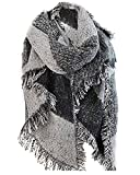 Vincenza - Ensemble bonnet, écharpe et gants - Femme - gris - Taille unique