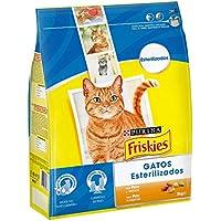 Purina - Friskies Esterilizados Gato Adulto Pavo y Verduras 4 x 3 Kg