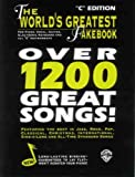 The World's Greatest Fakebook: C Edition by Warner Brothers (1997-03-04)