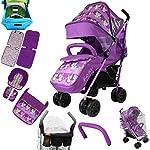 iSafe Optimum Stroller Foxy Design + Parent Console