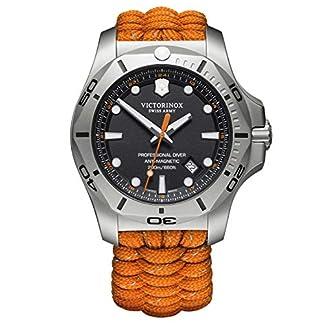 Victorinox Hombre I.N.O.X. Professional Diver – Reloj de Acero Inoxidable de Cuarzo analógico de fabricación Suiza 241845