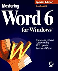 Mastering Word 6 for Windows