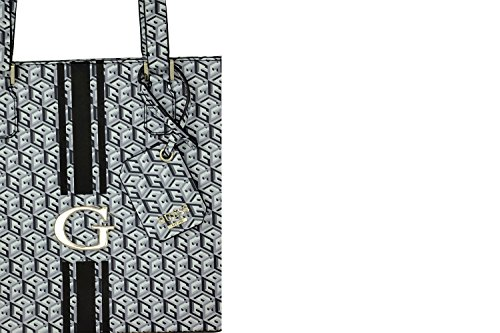 GUESS G CUBE SMALL CLASSIC TOTE SG456322 BLACK