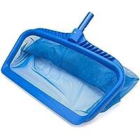deep-bag Red para estanques, piscina hoja cesta con malla fina Red encaja en la mayoría de barra telescópica para limpieza de piscina
