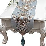 ZL-Tischläufer Tischläufer Tischdecke Tischdecke Matte Arbeitsplatte Dekoration Abdeckung Tuch (Farbe : A, größe : 33 * 300cm)