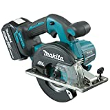 Makita DCS551RTJ 3900RPM 18V Lithium-Ion (Li-Ion) Black, Blue cordless circular saw - Cordless Circular Saws (18 V, Lithium-Ion (Li-Ion), 5 Ah, 45 min, 2.9 kg, 158 mm)