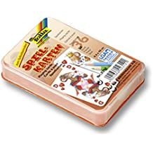 Folia 2312 - Spielkarten, blanko, 6.5 x 10 cm, 36 Stück, weiß