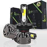Comprajunta 2Xmini 6 Scheinwerfer Lampen Vermietung LED-Leuchten Super Helle Lampe mit Cob-Chip Für Auto Fahrzeug Auto Auto Anti-Nebel-Licht,H4