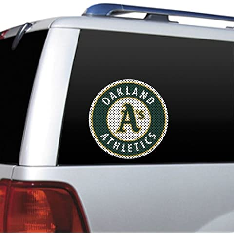 MLB Oakland Athletics Die Cut Window Film