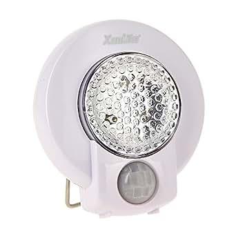 Xanlite LP610 Lampe 3 LED avec Détecteur de Mouvement Blanc