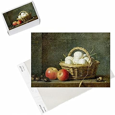 Photo Jigsaw Puzzle of The Basket of Eggs, 1788 (oil on canvas)