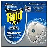 Raid Night & Day Ricarica - Antizanzare Elettrico - Multipacco da 4 Confezioni, 1 ricarica per ogni confezione