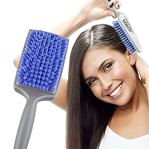 To dry microfibre hair-brush - PREMIUM MODEL - The hair up to 30% faster - simply comb and brush and the hair become quick again are