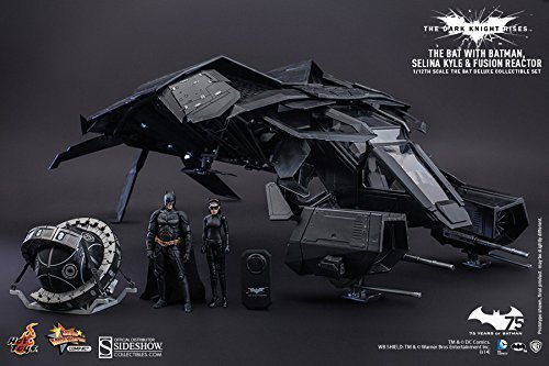 he Dark Knight Rises Batman The Bat 1/12 Scale Deluxe Set Catwoman by Hot Toys ()