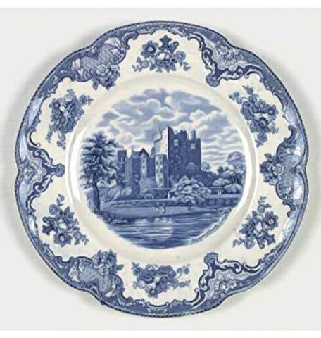 """Old Britain Castles Blue Johnson Brothers Casual Bread & Butter Plate 6.25"""""""