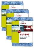 3er Set ALCLEAR Küchen Allrounder 820203K_3, reinigt Hochglanzküchen schonend und gründlich, 40x40 cm, blau