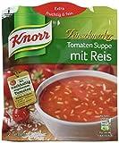 Knorr Feinschmecker Tomaten Suppe mit Reis (9 x 2 Teller)