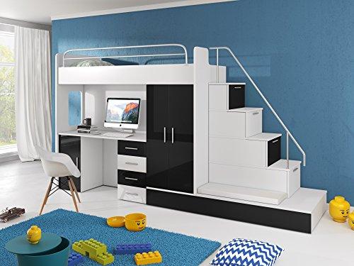 Etagenbett Geuther : ᑕ❶ᑐ hochbett mit treppe ▻ bestseller für ihr schlafparadies