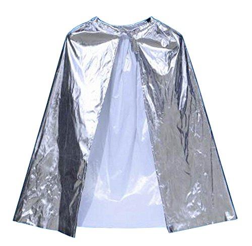 Alien Storehouse [90cm Silber] Halloween Umhang Weihnachtsfest Cape Cosplay Kostüm